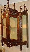 French, Louis XV period verrio (display cabinet)