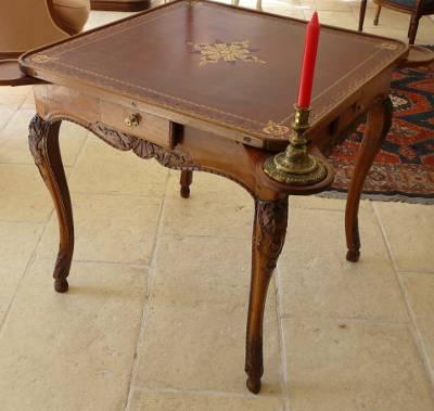 Superior Very Fine, Regence Period Table De Cabaret à Jeux (game Table)