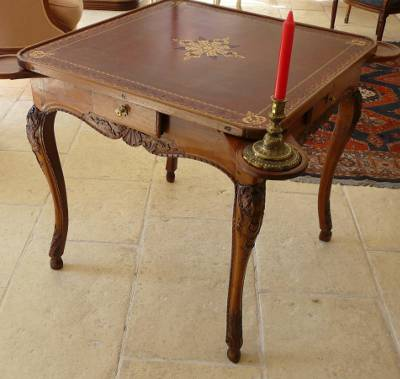 Beautiful Very Fine, Regence Period Table De Cabaret à Jeux (game Table)