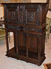 Exceptional, French, Renaissance period, dressoir (cabinet)