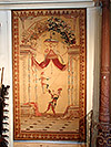 Very fine, French, Louis XIV period, Beauvais entre fenetre tapestry
