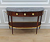 Fine, French, Louis XVI period console desserte