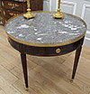 Fine, French, Louis XVI style, bouillotte table