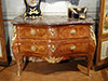 Very fine, French, Louis XV period marquetry commode