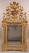 Very fine, French, Regence period mirror a parcloses