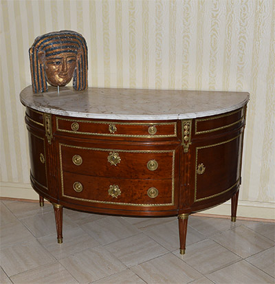 Exceptional, French, Neoclassical period commode