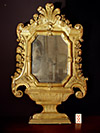 Rare, French, Louis XIV period standing mirror of large dimension