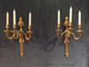 Pair of very fine, French, Louis XVI period sconces