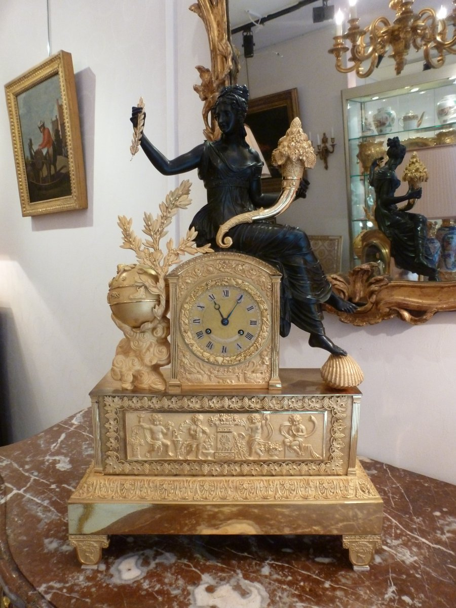 French, Restauration period mantle clock