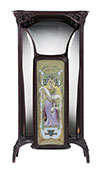 Spanish, Art Nouveau period vitrine