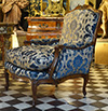 French, Louis XV period bergere