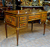 Northern Italian, Neoclassical period, marquetry inlaid bureau plat
