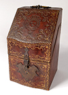 French, Louis XV style correspondence box