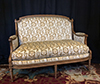 French, Louis XVI period, small canape