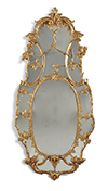 Irish, George III period mirror