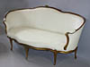 French, Louis XV period ottoman