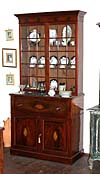 William IV style fall-front secretary/bookcase