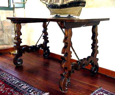 17th century, Spanish refectory table
