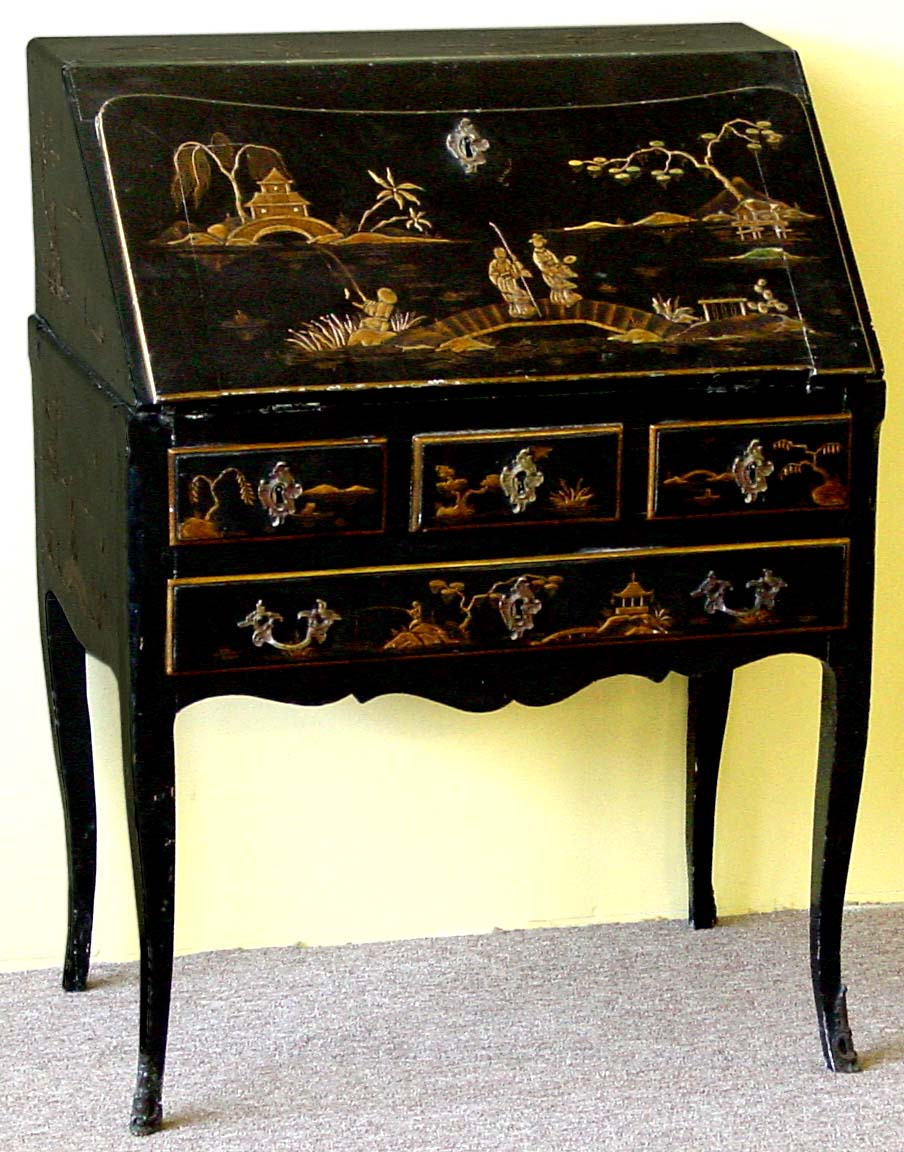 Louis XV style, chinoiserie secretary ( - Louis XV Style, Chinoiserie  Secretary ( - Antique Chinoiserie Furniture Antique Furniture