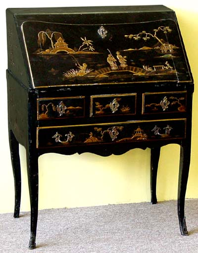 Louis Xv Style Chinoiserie Secretary Quot Dos D Ane Quot
