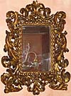 Florentine, Baroque, carved giltwood mirror