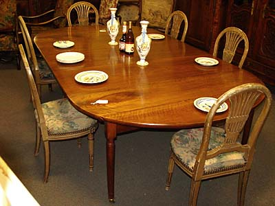 French Louis XVI Period Dining Table