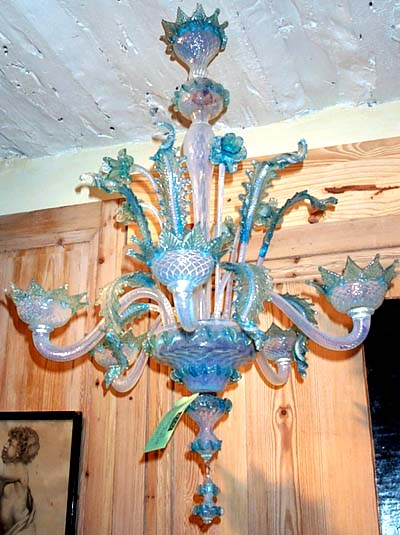 Murano blown glass chandelier venetian murano blown glass chandelier mozeypictures Image collections