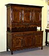 Louis XV period buffet deux corps from Lorraine