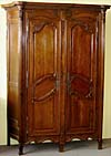 French, Neoclassical, period armoire de chasse