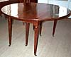 Rare, French, Neoclassical, extension dining table