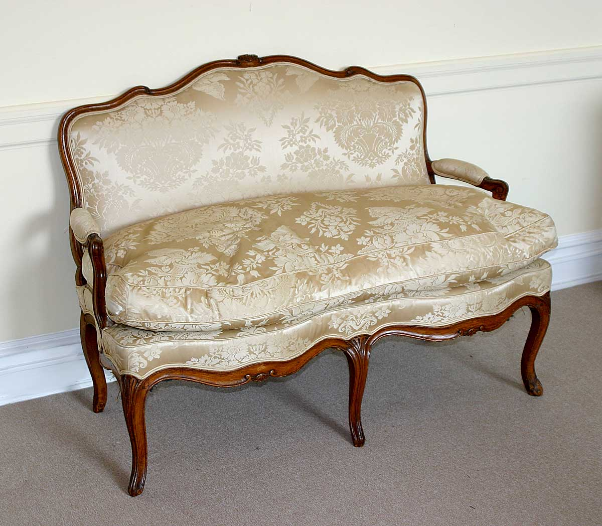 Louis xv period canap for Canape louis 15