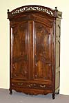 Louis XV period, marriage armoire