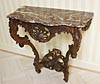 French, Rocaille period, console table