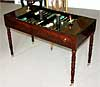Rare, French, Jacob period tric-trac table