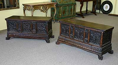 Companion pair of Catalan, Baroque period caixa