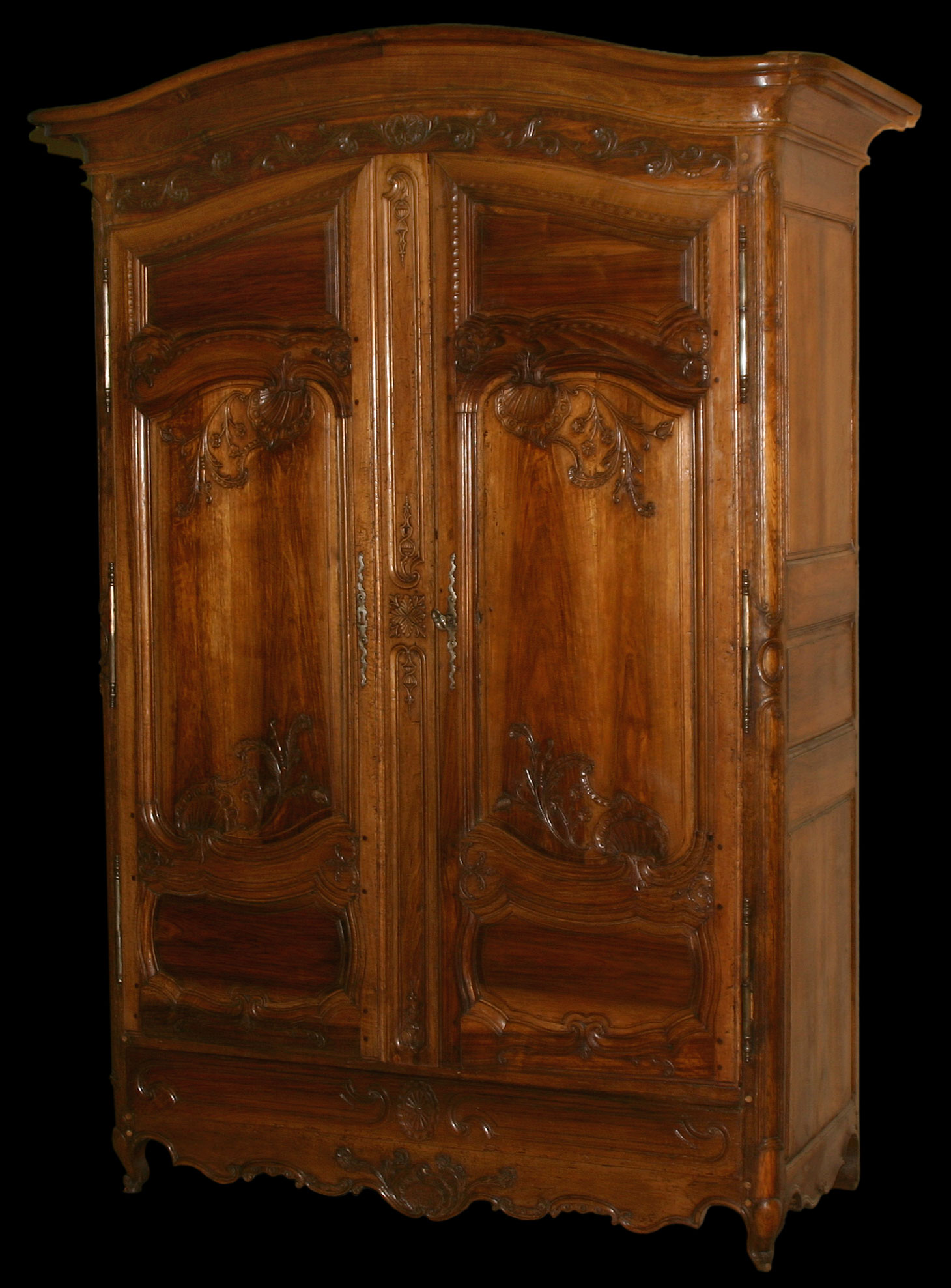 french louis xv period armoire. Black Bedroom Furniture Sets. Home Design Ideas