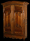 French, Louis XV period armoire