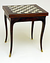 Parisian, Louis XV period table a jeu