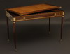 Very fine, French, Louis XVI period tric trac table