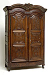 Very fine, French, Regence period armoire