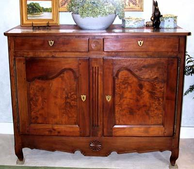 French Provincial, Restoration period buffet