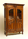 French, Nimoise, Regence period armoire