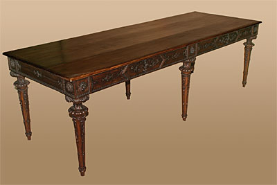f in x furniture style library table at tables circa id empire mahogany the for sale