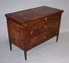 Very fine, Northern Italian, Neoclassical period, marquetry-inlaid commode