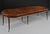 Very  fine, French, Louis XVI style, brass-mounted, dining table