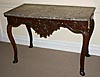 Very fine, French provincial, Regence period console table