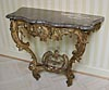 French, 18th century, Louis XV period console table