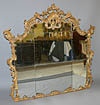 Very fine, Northern Italian, Rococo period overmantel mirror of large dimensions