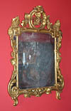 Fine, French, Louis XV-XVI Transition period mirror
