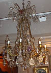 Fine, French, Louis XV style bronze d'ore chandelier